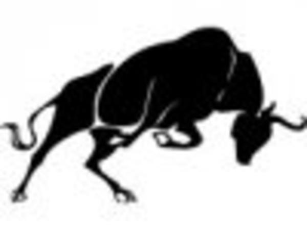 Bull clipart raging bull Segmentedth image clip com Clker