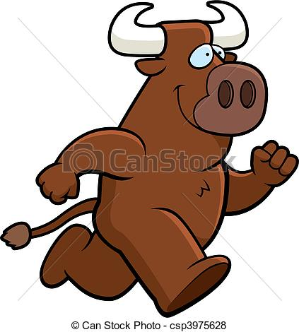 Bull clipart happy Clipart The (53+) Running With