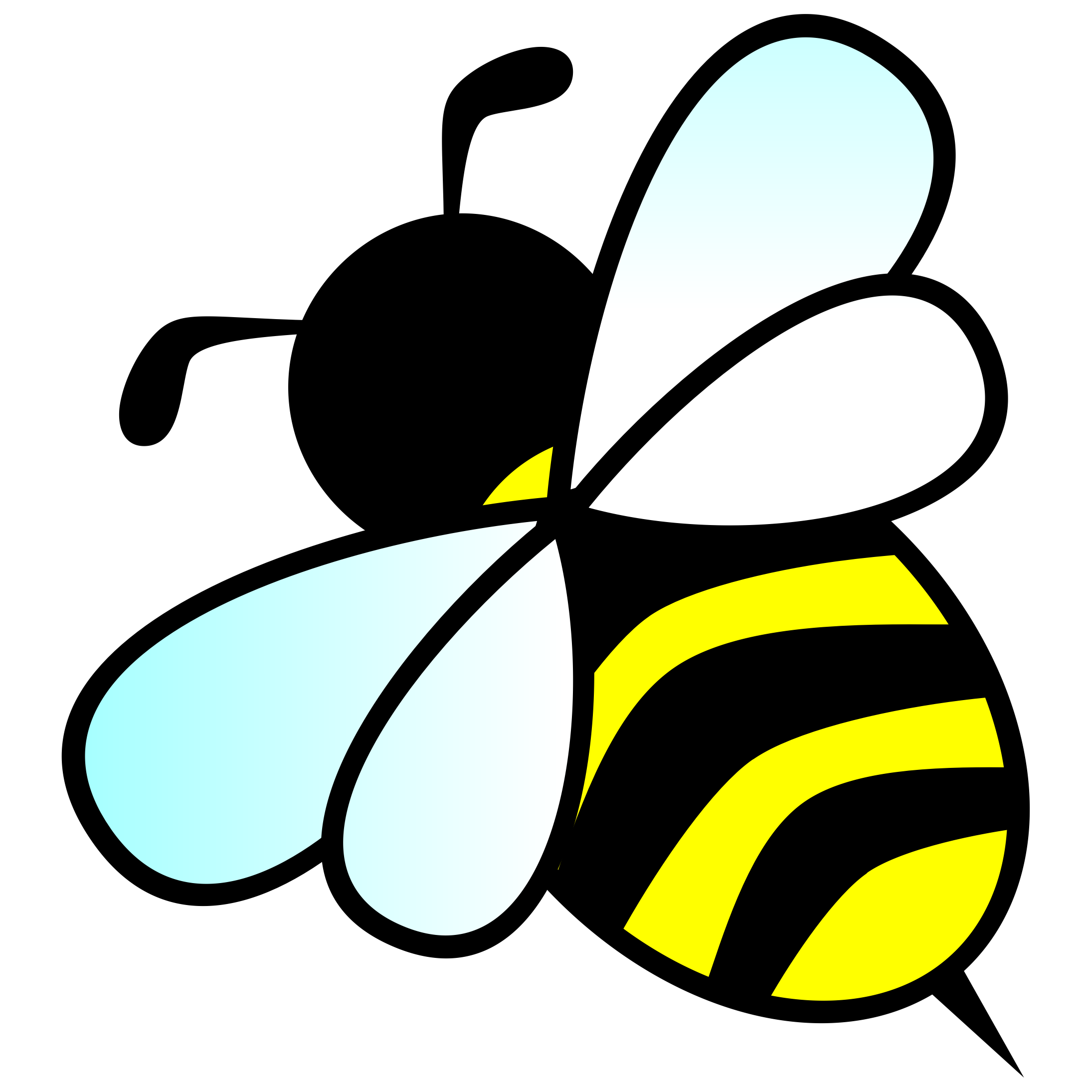 Bee clipart bumblebee Cute bee love clip more