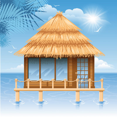 Hut clipart round Clipart LearningMedia Bungalow PBS Social