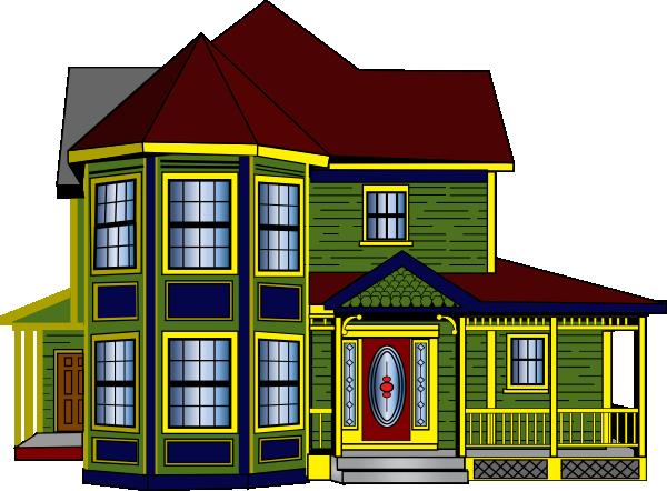 Hosue clipart bungalow Clipart Bungalow