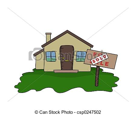 Illustration clipart bungalow And Stock Bungalow EPS sign