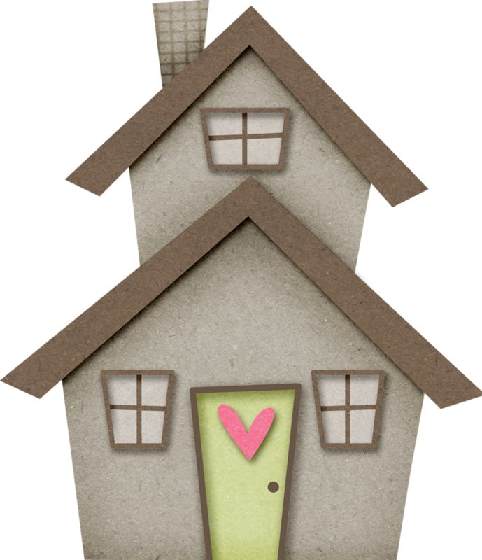 Bungalow clipart little house Hσṃє images ✿⁀Home Glitter on
