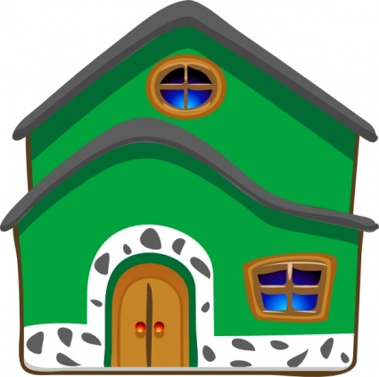 Bungalow clipart my house Home kid clipart com 2