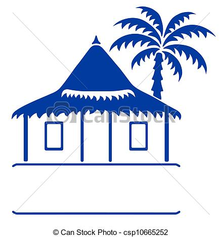 Bungalow clipart my house Bungalow llustration sign bungalow Vector