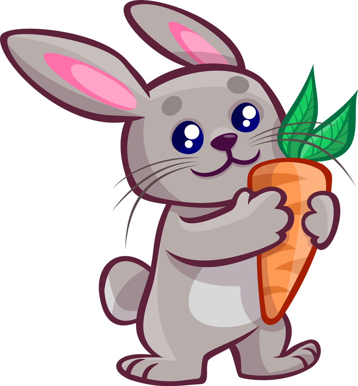 Rabbit clipart #8
