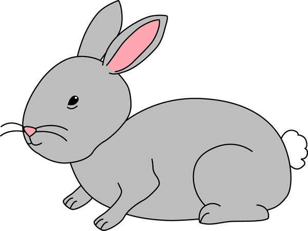 Rabbit clipart #10