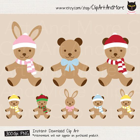 Teddy clipart bunny #8