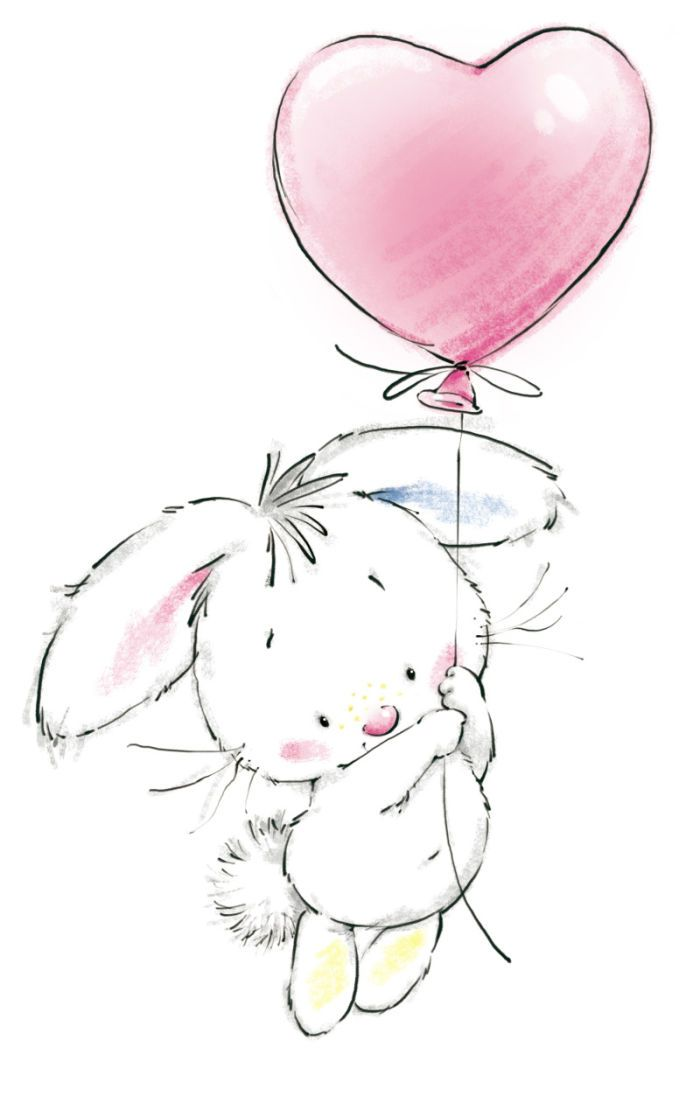 Birthday clipart bunny Pin Find this Clipart Clipart