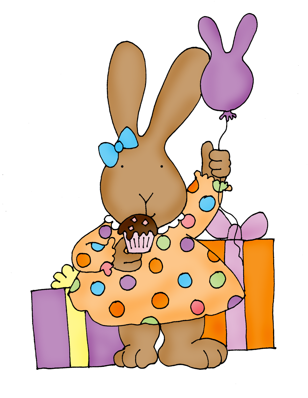 Birthday clipart bunny Bunny! Happy Birthday Bunny! Digi