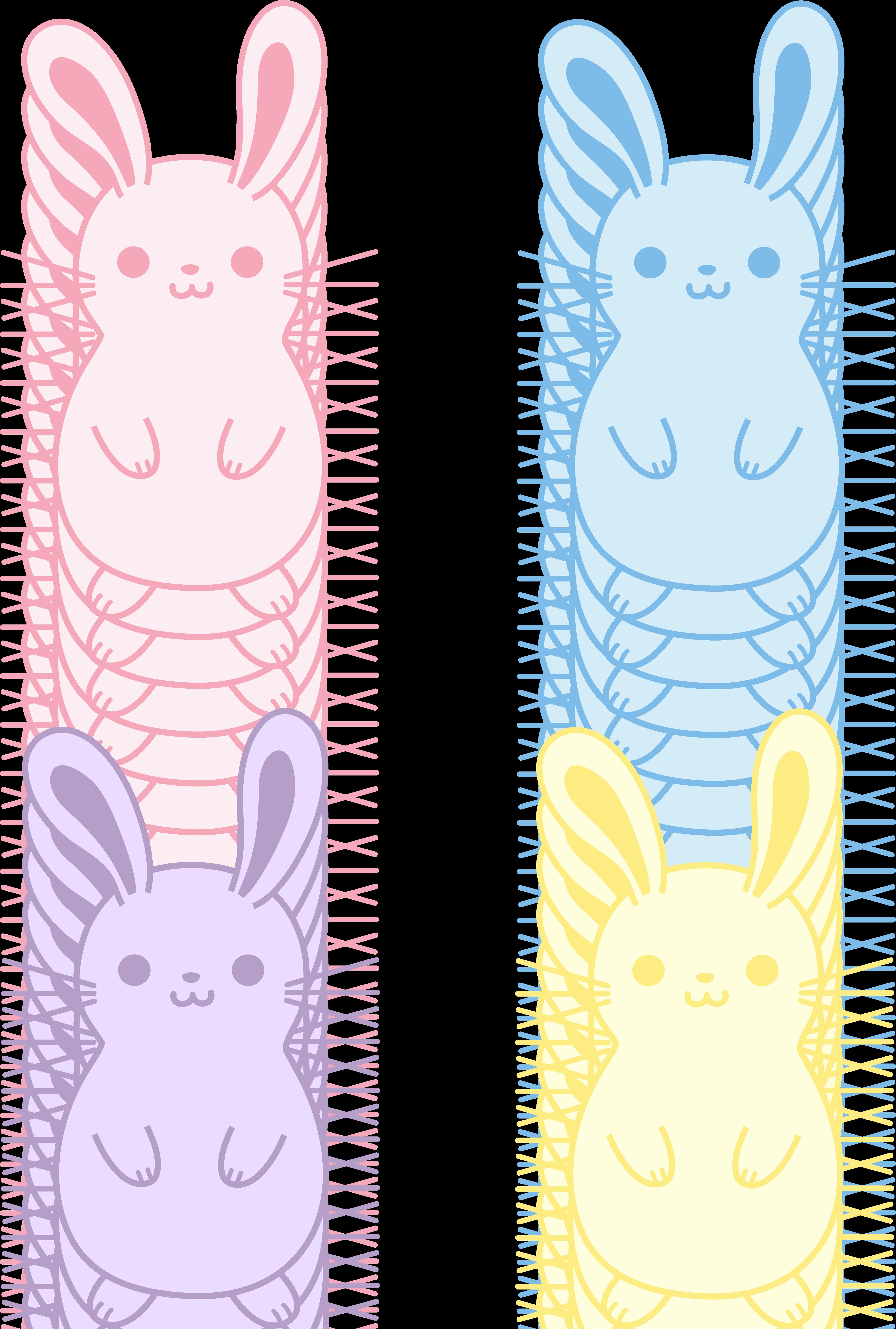 Drawn bunny chubby bunny Art Bunnies Four of Four