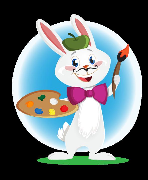 Bunny clipart computer Clip Bunny Free Domain Artist