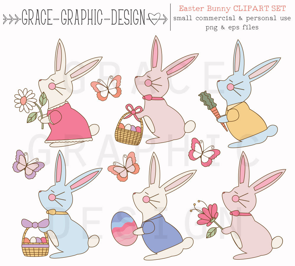 Drawn rabbit hand drawn Clipart Clipart Bunny  Drawn