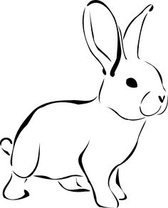 Drawn rabbit hand drawn Stuff Cool Rabbit Bunny cliparts