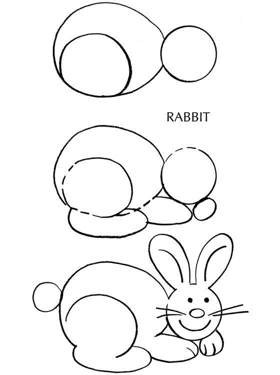Drawn rabbit hand drawn Bunny Draw and Pinterest tutorials: