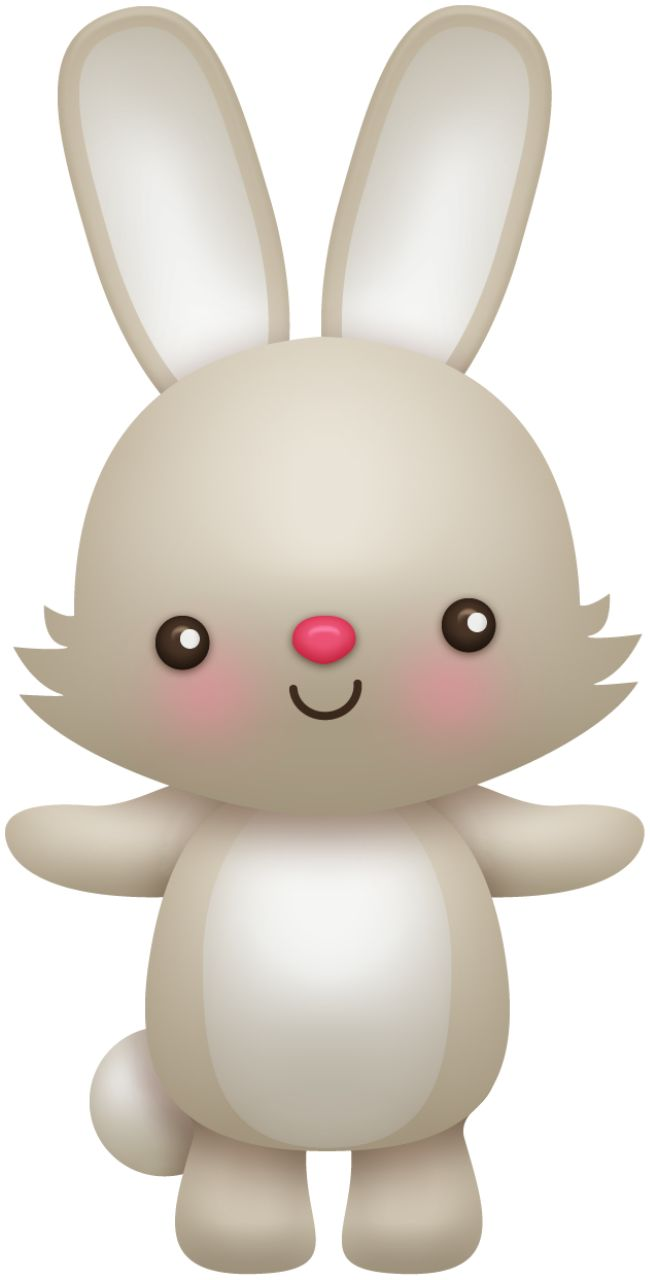 Rabbit clipart forest animal #6