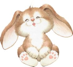 Kisses clipart bunny Bunny on Easter clipart collection