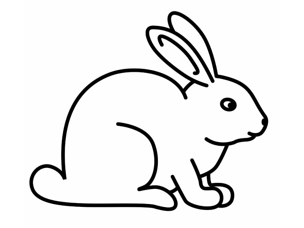 Drawn rabbit simple Art Free Art Download Rabbit