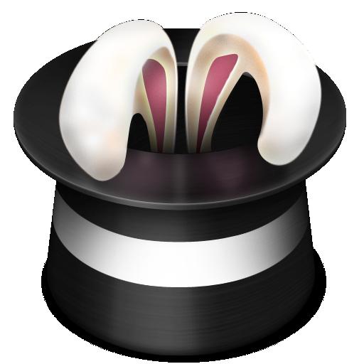 Bunny clipart magic hat Rabbit hat  icon magic