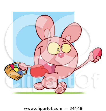Buck clipart bunny Free collection Pink Pink rabbit