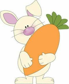 Carrot clipart bunny More bunny bunny Bunny white