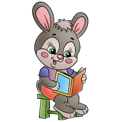 Bunny clipart school Funny Images clipart collection school