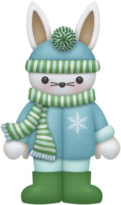 Chill clipart sick man Winter Bunny Cliparts Snow Clipart