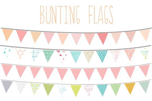 Bunting clipart Bunting Bunting Art Clip Art