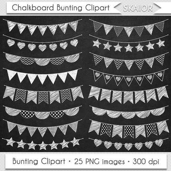 Drawn bunting  Bunting Bunting Clipart Clipart