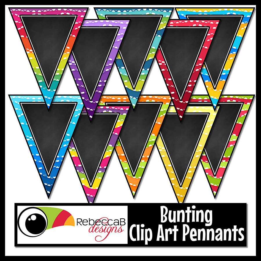Single clipart bunting  is Bunting This Art: