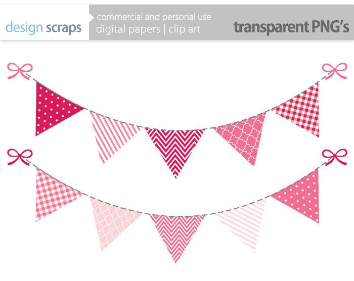 Single clipart bunting Bunting  Clipart Flag