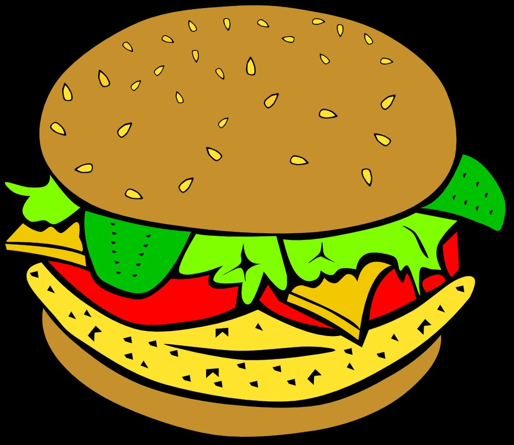 Burger clipart Savoronmorehead org DownloadClipart clip Clip