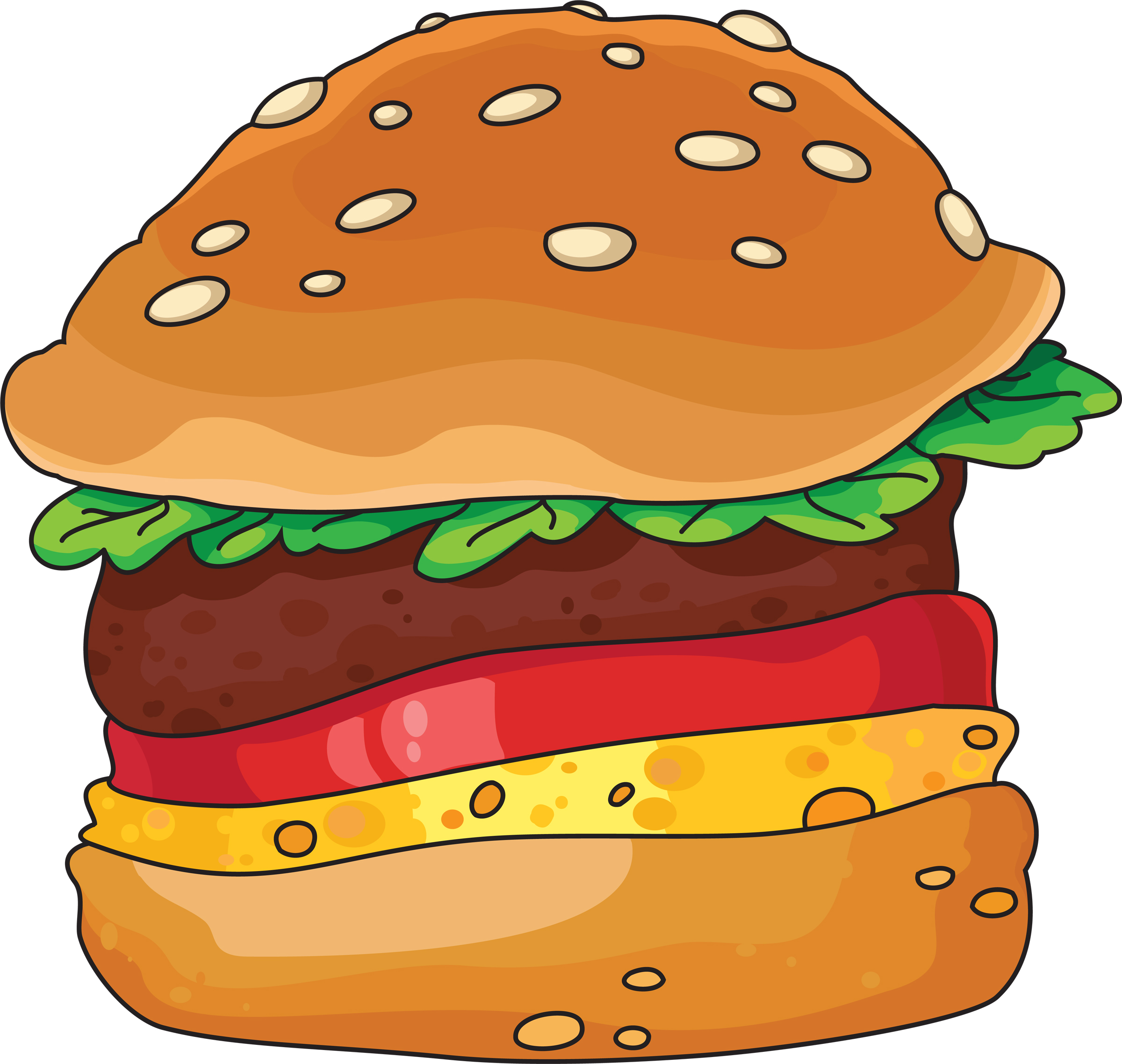 Veggie Burger clipart design banner Com 4 9 clipart burger