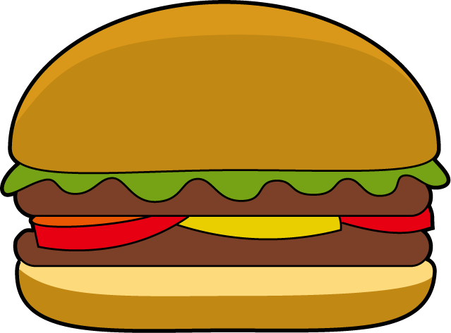 Burger clipart On Free Free  Clipart