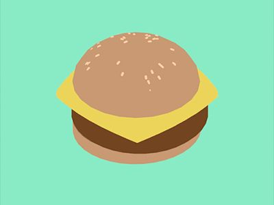 Burger clipart animation Cool GIF com/shots/1121005 Pinterest best