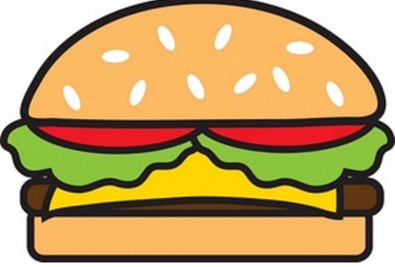 Burger clipart animation Animated by Storminite Redbubble Art