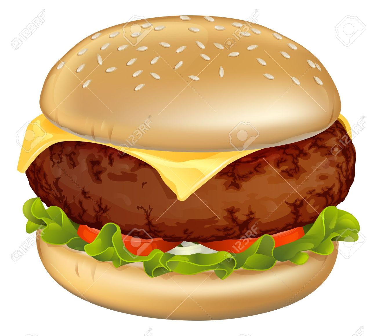 Burger clipart beef burger Beef — Burger of Beef