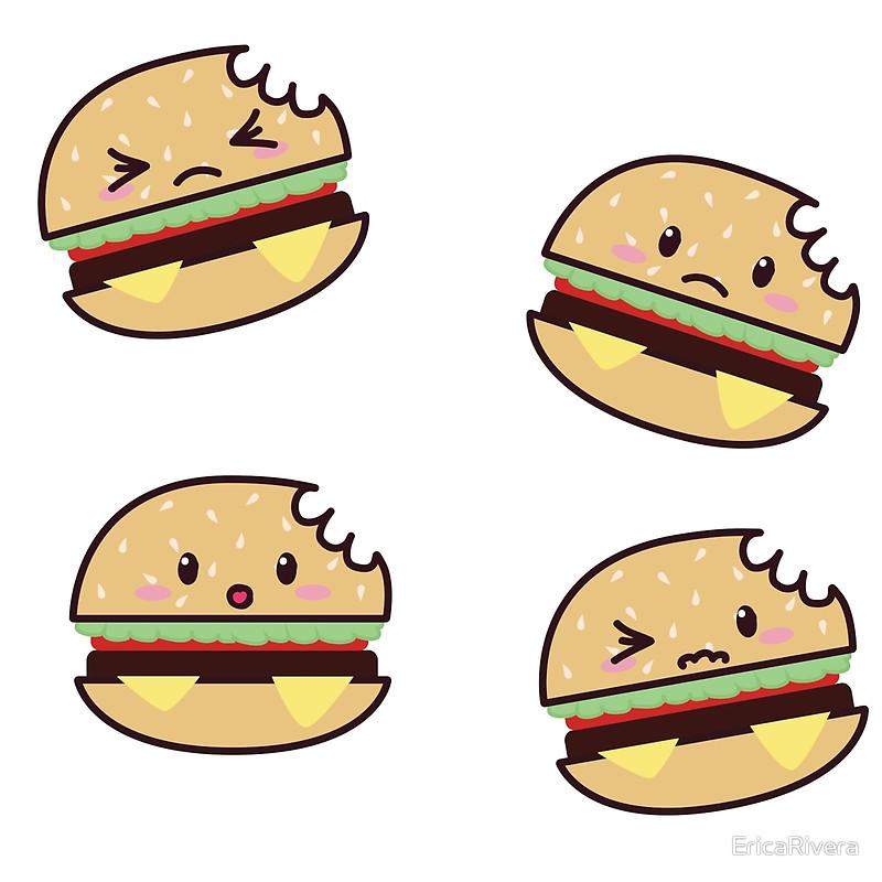 Burger clipart bitten Bitten Bitten Throw EricaRivera Redbubble