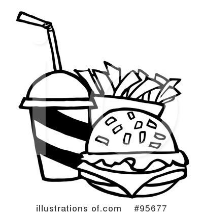 Black clipart hamburger Clipart – White and Art
