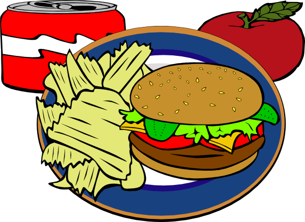 Burger clipart burger chip Fast vector  Download as: