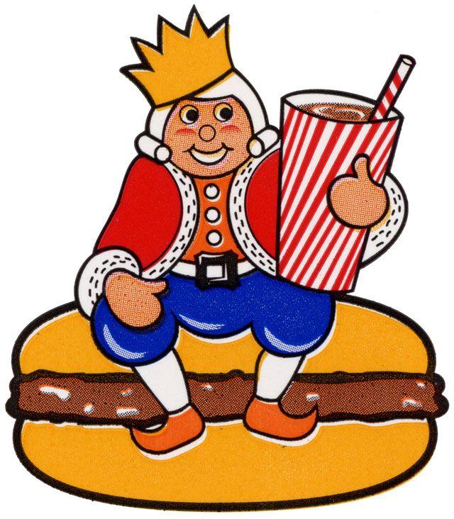 Burger clipart burger king Burger Best 25+ Vintage King