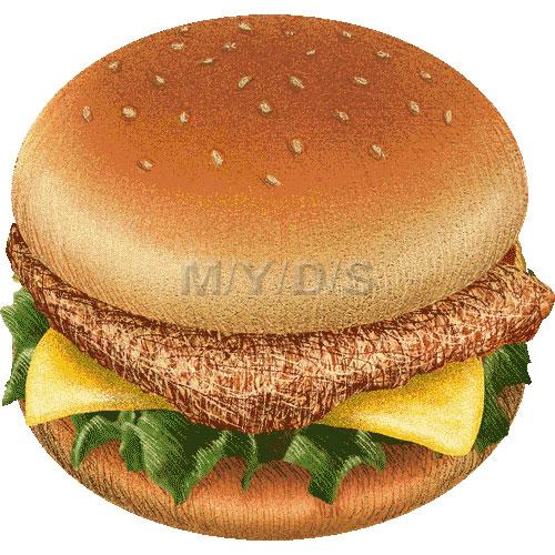 Veggie Burger clipart chicken sandwich Clipart Chicken art Large Sandwich