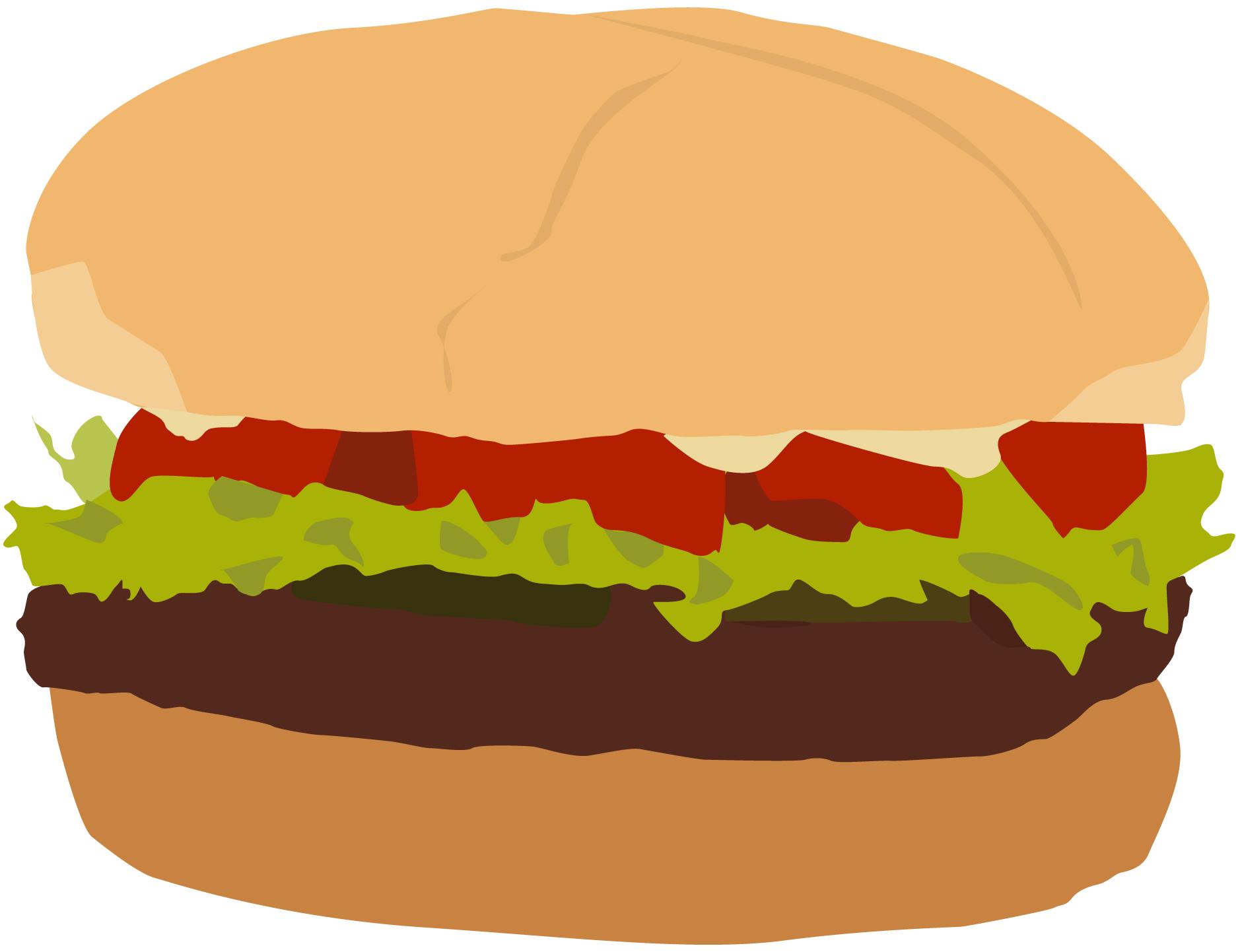 Burger clipart cookout Plain #2998 to Print Clip