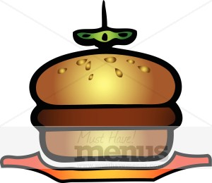 Burger clipart cookout American Templates MustHaveMenus( 31 Clipart