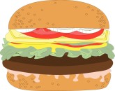 Burger clipart cookout Deluxe Templates MustHaveMenus( 31 Clipart