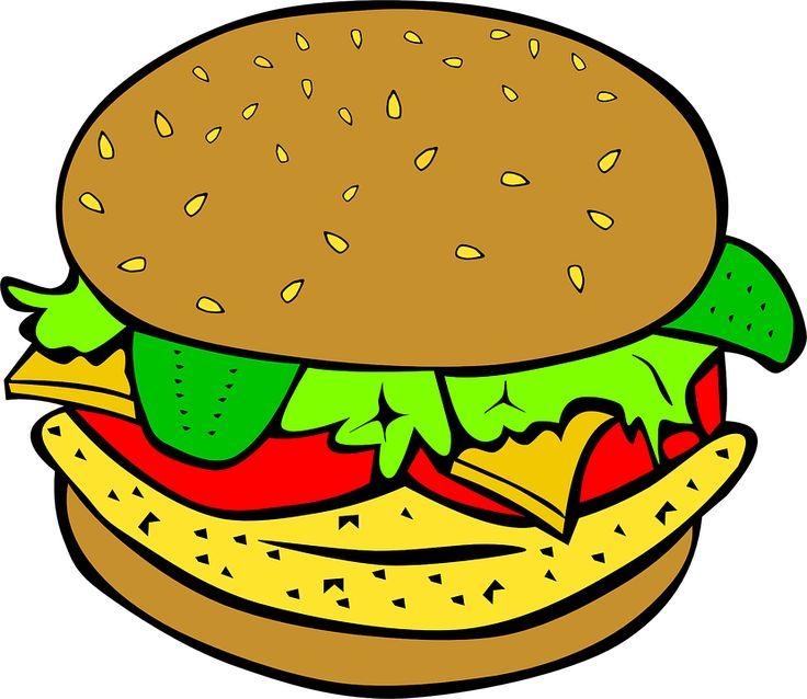 Burger clipart delicious food Pin Bear: burger illustraionsd Find