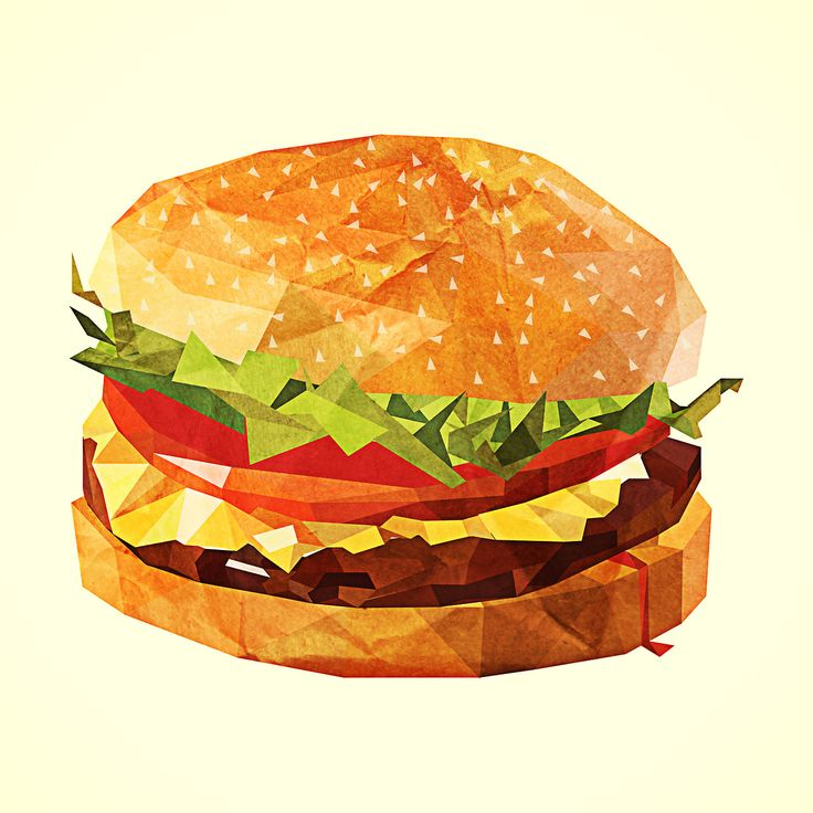 Veggie Burger clipart school food Images best illustration 9 burger