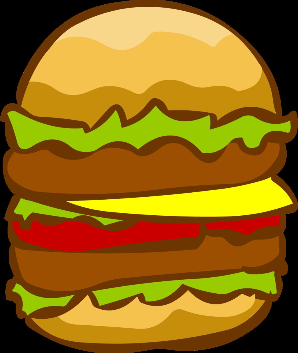 Burger clipart double  pictures  burger clipart