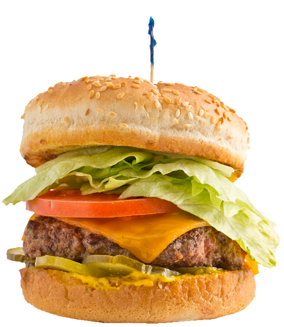 Burger clipart double Meat Huey's Our Burgers