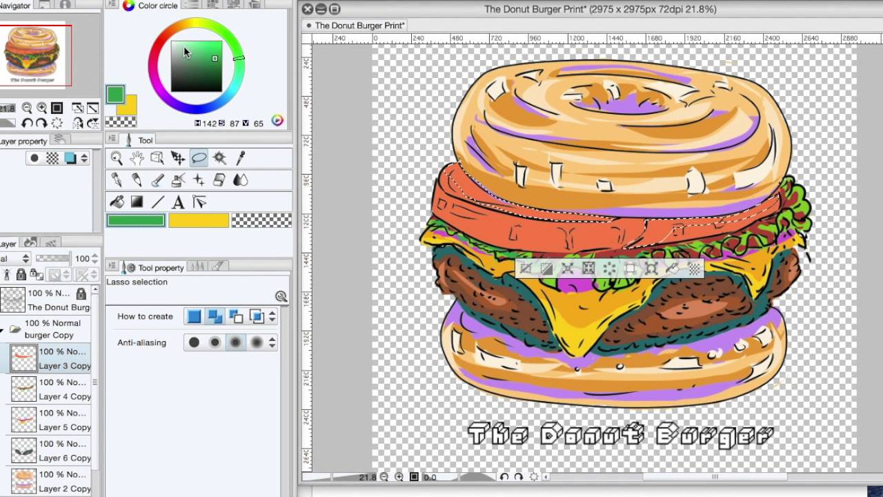 Burger clipart doughnut Color That That The Donut